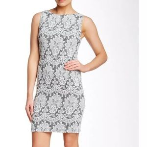 Alice + Olivia Donovan Fitted Lace Dress size 0